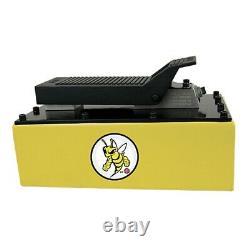 Esco 10877 5-qt Metal Air Hydraulic Pump Yellow Jackit