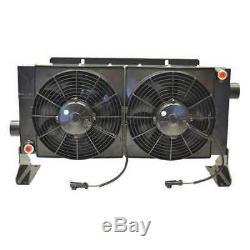 Forced-Air Bypass Oil Cooler, 45PSI, 17A COOL-LINE D45-12-BP45