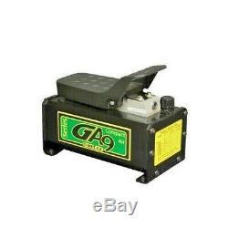 GA90 SIMPLEX, Air / Hydraulic Compact Foot Pump, 10,000 psi, Single-Acting