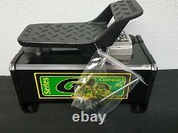 GA90 Simplex Air Hydraulic Compact Foot Pump, 10,000 psi, Single-Acting