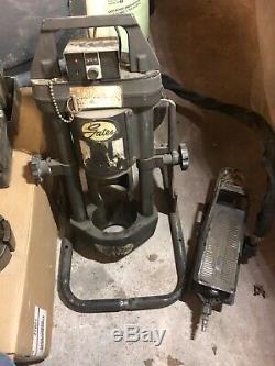 Gates MobileCrimp 4-20 Hydraulic hose crimper with air/hyd, hand pump and 5 dies