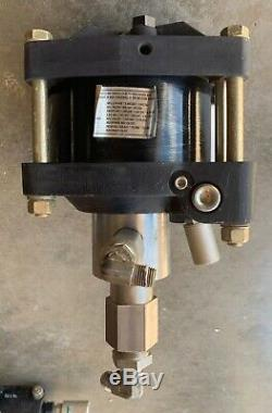 Haskel ASF-B10 Air Driven Fluid Liquid Pump 10 to 1 Ratio 1.5HP 1600 PSIG