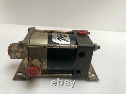 Haskel Air Driven Liquid/ Fluid Pump 700 Bar/ 10,000 Psi Tested Pressure