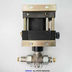 Haskel DSF-60 Air Driven Fluid Pump 601 150 PSI AIR 9800 PSI LIQUID