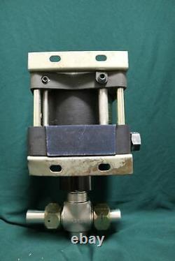 Haskel DSF-60 Air Driven Fluid Pump 601 150 PSI Air 9800 PSI Liquid Hydraulic