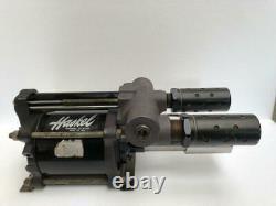 Haskel Gw-60 Pneumatic Air Liquid/ Fluid Pump 7500 Psi/ 517 Bar 601 Ratio