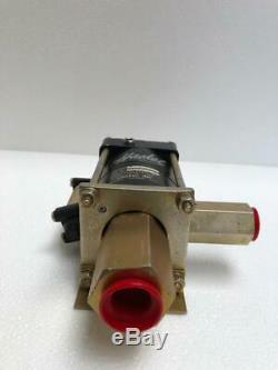 Haskel M-7 Pneumatic Air Fluid Pump 0.33 HP 7.81 Ratio 300 Psi 21 Bar Max Wp #1