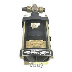 Haskell DXHF-602 6021 High Pressure Air Driven Fluid Pump 75000 PSI Max