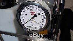 Hydratight 10-6 Series Hydraulic Tensioner Pump air powered