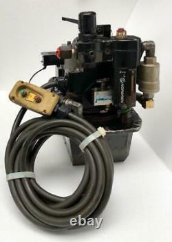 Hydratight Za4204tx-a Air Hydraulic Pump For Torque Wrench 700 Bar/10,000 Psi #2