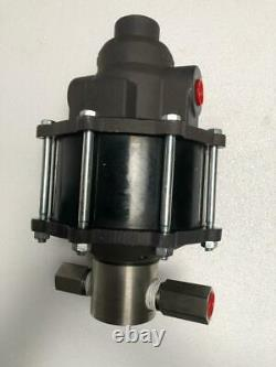 Hydratron Az-1-36 Pneumatic Air Driven Liquid/ Fluid Pump 250 Bar Mwp