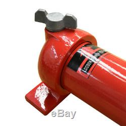 Hydraulic Hand Pump 50 Hose & Coupler Included MH4 Manual 10,000 PSI Air