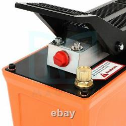 Hydraulic Pump Air 1.7L10000 PSI With Hose Coupler For Machinery Rigging &Moving