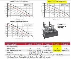 Hydronic Pneumatic Hydraulic Power Unit Dual Pump P820-30 Air-Driven R100