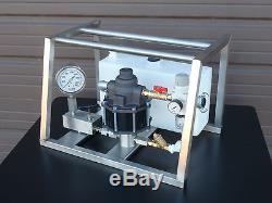 Hydrostatic Test Pump Portable Air Operated High Pressure 5,000 PSI