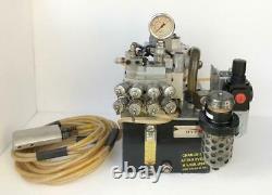 Hytorc Air Pneumatic Air Hydraulic Pump For Torque Wrench 4 Tool Use 700 Bar
