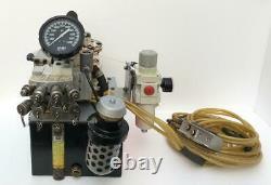Hytorc Air Pneumatic Air Hydraulic Pump For Torque Wrench 4 Tool Use 700 Bar #2