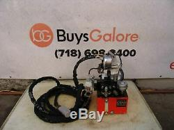 Hytorc Hydraulic Pump for Impact Wrench 10,000 PSI Air Powered Pneumatic Nice
