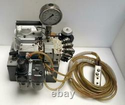 Hytorc Model A Pneumatic Air Hydraulic Pump For Torque Wrench 4 Tool Use 700 Bar