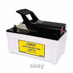 Jackco Air Hydraulic Foot Pump 10,000 psi. Free Shipping