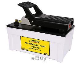 Jackco Air/hydraulic Foot Pump-842-10,000 Psi