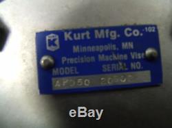 KURT Air Pressure Booster Intensifier Pump APD 40-111 hydraulic APD50 80 PSIG