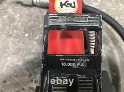 Kansas Jack Black Hawk 10,000 PSI Air Hydraulic Pump For Parts Or Repair