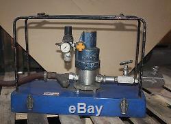 MADAN 2250 PSI HIGH PRESSURE PNEUMATIC Air Driven HYDRAULIC PACK Pump PORTACUB