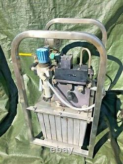 Maximator 30 000 PSI Air Driven Hydraulic Pump G250 LVE. Made in Germany