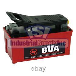 Metal Air Pump 10,000 PSI 91 In³ Usable Oil Capacity BVA Hydraulics PA1500