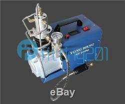 NEW 110V 30MPa 50L/Min Electric High Pressure System Rifle Air Compressor Pump