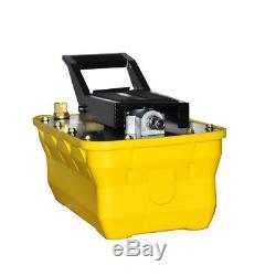 NEW 2.3L Hydraulic Air Foot Pump Pedal Hydraulic Jack Rotary Lift Tools US Stock
