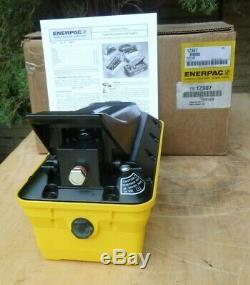 NEW Enerpac Turbo II PATG 1102N Air/Hydraulic Pump, 10,000 psi, Factory Box