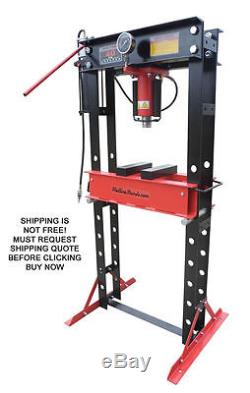 NEW Redline RE40T Air Pump Shop Press 40 Ton Auto Automotive Hydraulic Metal