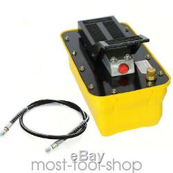 New Air Powered Hydraulic Foot Pedal Pump 10,000 PSI For Auto Body Frame Machine
