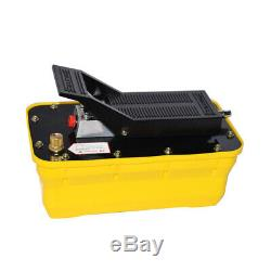 New Air Powered Hydraulic Foot Pump 10,000 PSI Pack Release Pressure Auto Repair