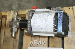 New Haskel Air Driven Fluid Pump Dstv-52-54935 Max Outlet 8000 Psi