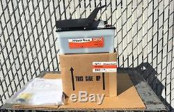 New Spx Power Team Pa6 Hydraulic Foot Pump Air Driven 10,000psi