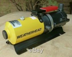 New! Weatherhead T-462-2 Air / Hydraulic Pump, 10,000 psi, Never Used