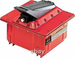 Norco 910018B Air/Hydraulic Foot Pump, 2 Gallon Steel Case