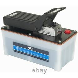 OTC Air Powered Foot Pedal Controlled Hydraulic Pump 4020 Capacity 10,000 PSI