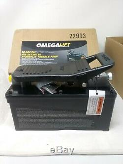 OmegaLift 10000 PSI Air Actuated Hydraulic Treadle Pump 22903
