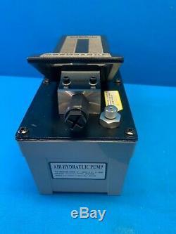 Operated Air Hydraulic Foot Pump