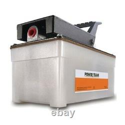 PA6 SPX Power Team Single Speed Air Driven Pump 105 Cubic inch Oil Capacity UPC