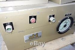 PHI Pasadena Hydraulics compression molding press heated platens haskel air pump