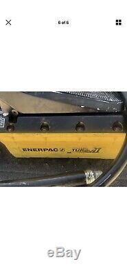 Parker KarryKrimp Portable Hydraulic Hose Crimper with Air/Hydraulic Pump