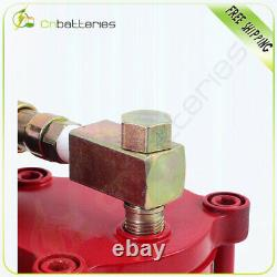 Pneumatic Air Hydraulic Bottle Jack with Manual Hand Pump, 20 Ton (40,000 lb)