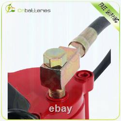 Pneumatic Air Hydraulic Bottle Jack with Manual Hand Pump, 30 Ton (66,000 lb)