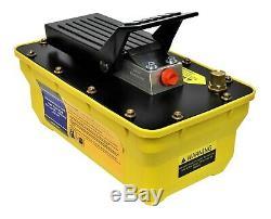 Porta Power Air Operated Hi Pressure Hydraulic Pump 10000PSI 680Bar Foot control