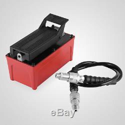 Porta Power Hydraulic Air Foot Pump 1/2 gal 60-120PSI Air Pressure